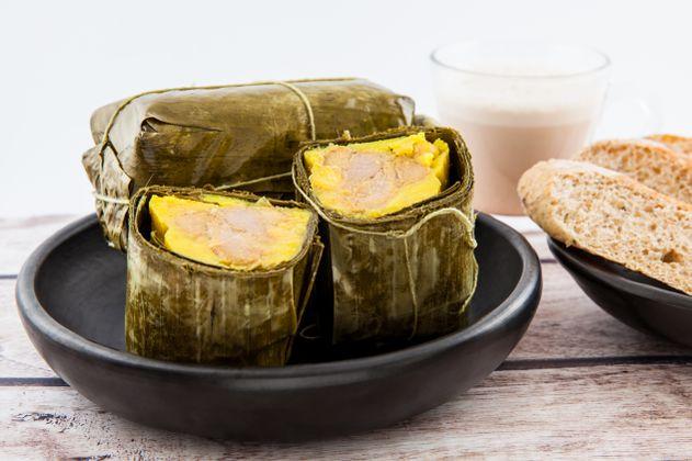 Receta: Ingredientes y cómo preparar tamal tolimense