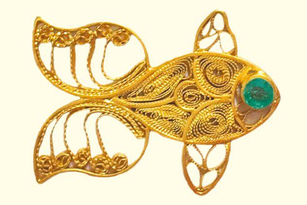 Pescaditos de oro inspirados en Macondo