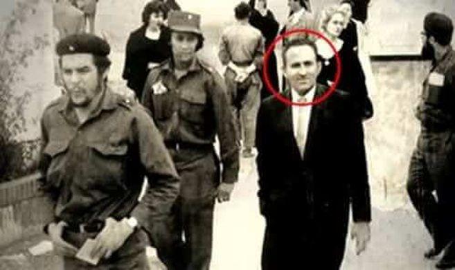 Lucio Urtubia en la reunión con el Che Guevara. Aquella vez el guerrillero argentino desestimó la idea que tenía Urtubia para llevar a la quiebra al sistema capitalista liderado por Estados Unidos.