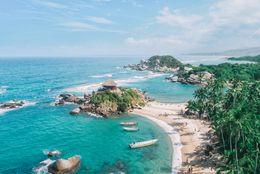 5 playas en el Caribe colombiano para visitar en fin de año