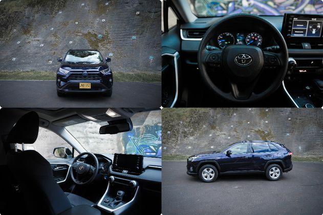 En fotos: la nueva Toyota RAV4 híbrida