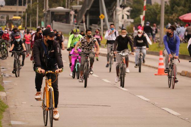 ¡Recuerde! Este fin de semana vuelve la ciclovía y el ingreso a parques en Bogotá