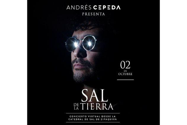"""""""Sal de la tierra"""": El concierto de Andrés Cepeda en la Catedral de Sal de Zipaquirá"""