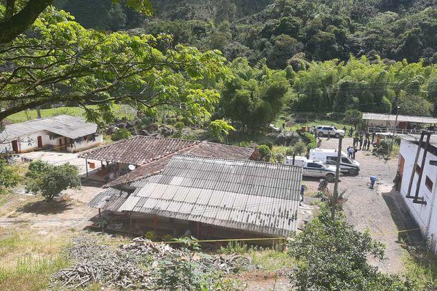 Masacre en Betania (Antioquia): cinco personas fueron asesinadas