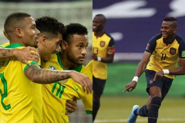 Brasil vs Ecuador: hora, fecha y dónde ver en vivo las Eliminatorias a Catar 2022