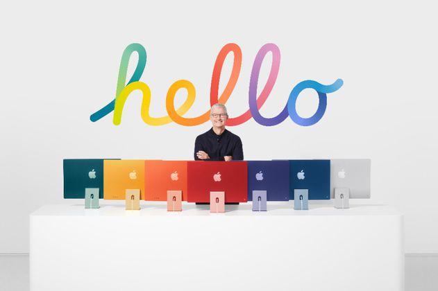 En fotos: los nuevos iMac, iPad y servicios de Apple para 2021