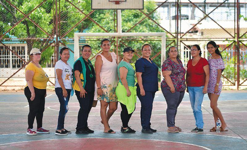 Las mujeres que acompañan los procesos de las juntas de acción comunal.