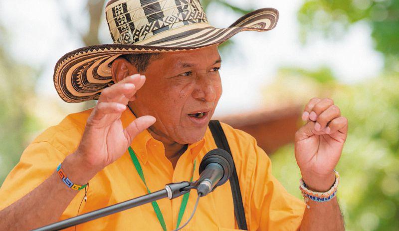 Exgobernador indígena Jorge Aquiles Chica.