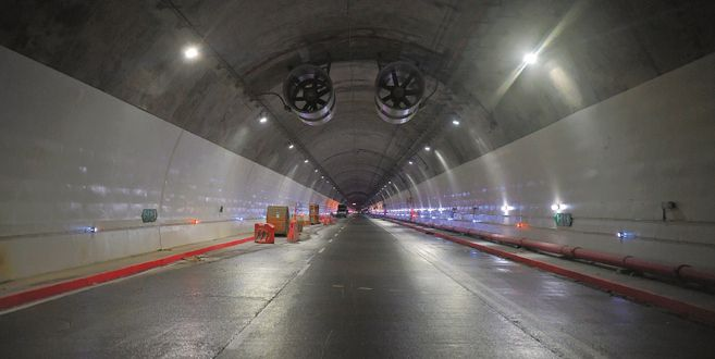 Túnel de La Línea se pondrá al servicio el 4 de septiembre | EL ESPECTADOR