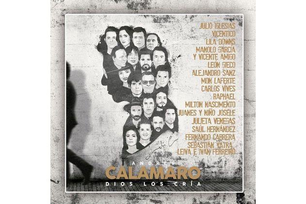 """Andrés Calamaro presenta """"Dios los cría"""", álbum donde reversiona sus éxitos"""