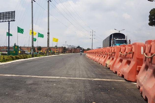 En julio finalizarán obras en la ciclorruta de la calle 13, occidente de Bogotá
