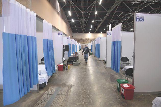 ¿Reabrir el hospital de Corferias es una opción?