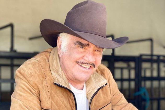 Familia de Vicente Fernández dio a conocer el estado de salud del cantante