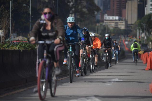 Para 2022, Bogotá espera tener más de 800 kilómetros de ciclorrutas