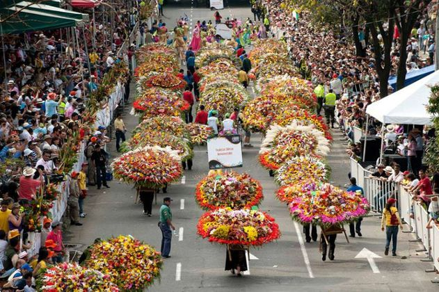 Feria de la Flores: mayores de 40 años sin vacuna no podrán ingresar