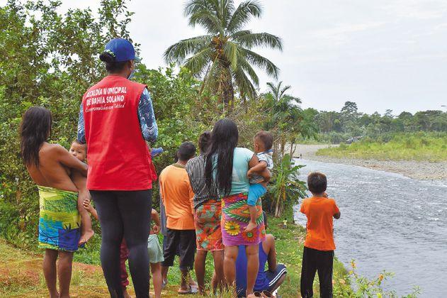 Así fue el retorno de 905 indígenas desplazados en Bahía Solano