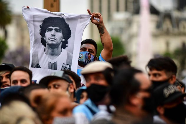 La revolución que se ha desatado en el barrio donde fue enterrado Maradona