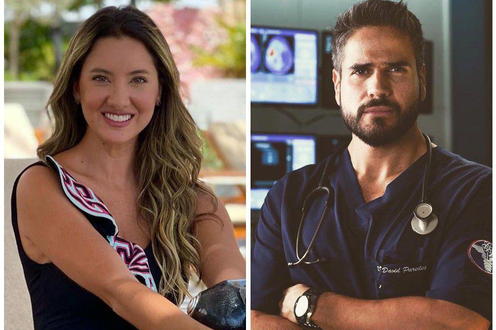 La expresentadora de El Desafío The Box y el actor Daniel Arenas se dedicaron unos románticos mensajes en redes sociales.