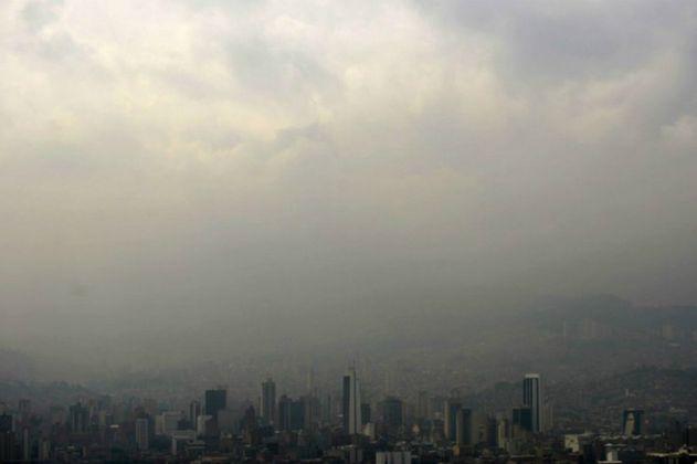 La calidad del aire en Medellín sigue en deterioro
