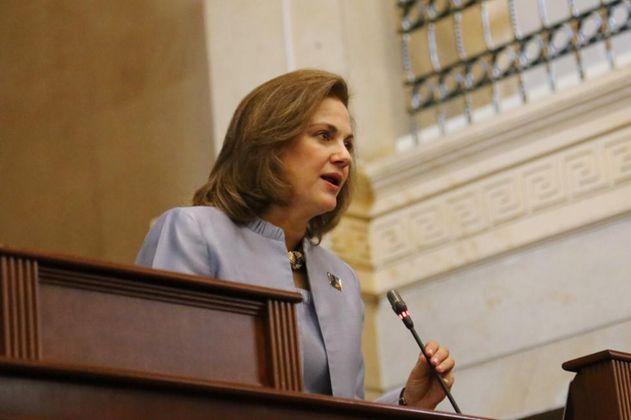 """No era el momento"": senadora Guerra sobre suspensión de ley de garantías"