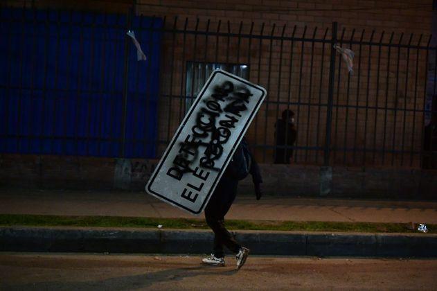 Capturan en Bogotá miembro de Primera Línea involucrado en vandalismo y tortura
