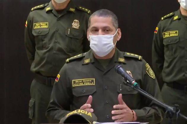 """General Penilla: """"no necesitamos que nos ordenen para hacer uso de armas de servicio"""""""