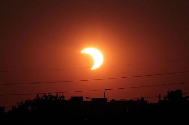 Dónde y cuándo se podrá ver el eclipse solar del 10 de junio