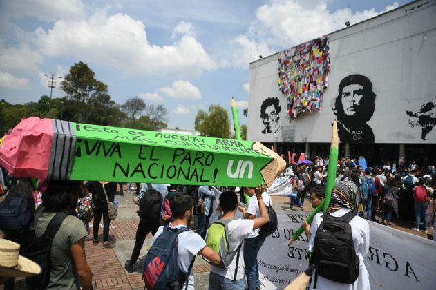 No se aplazará el semestre en la Universidad Nacional