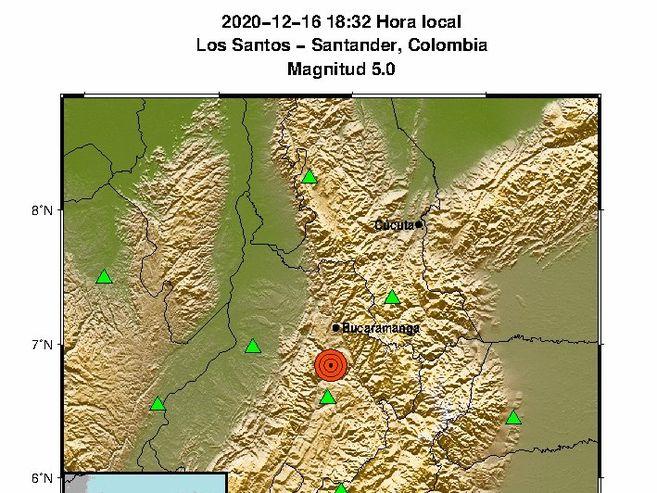 Temblor hoy: Sismo de 5.2 se sintió en varias zonas de Colombia | EL ESPECTADOR