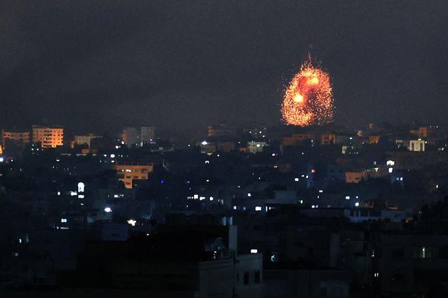 En fotos: Día de fuego y miedo en Israel y la Franja de Gaza