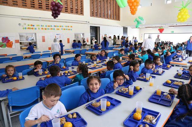 Entraron en operación dos nuevos comedores escolares en Bogotá