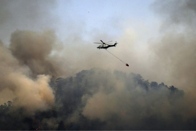 Alerta roja en 26 departamentos de Colombia por incendios forestales