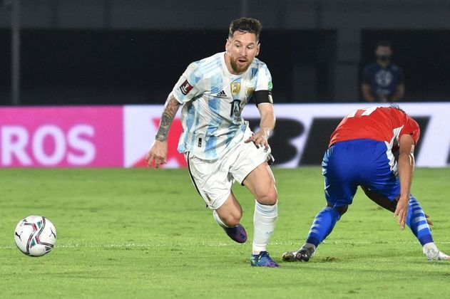 Argentina, con Lionel Messi, le sacó un empate a Paraguay en Asunción