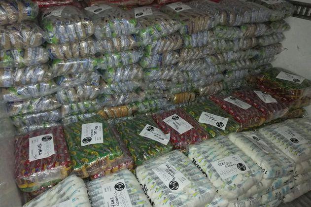 Banco de Alimentos Bogotá distribuyó 29.700 toneladas de comida en el país en 2020
