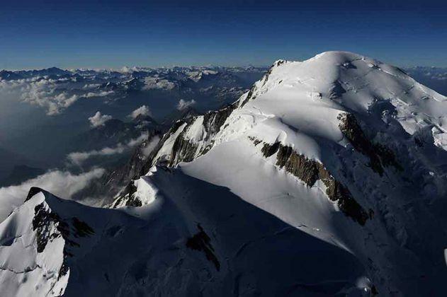 Los glaciares de los Alpes italianos se rinden al cambio climático