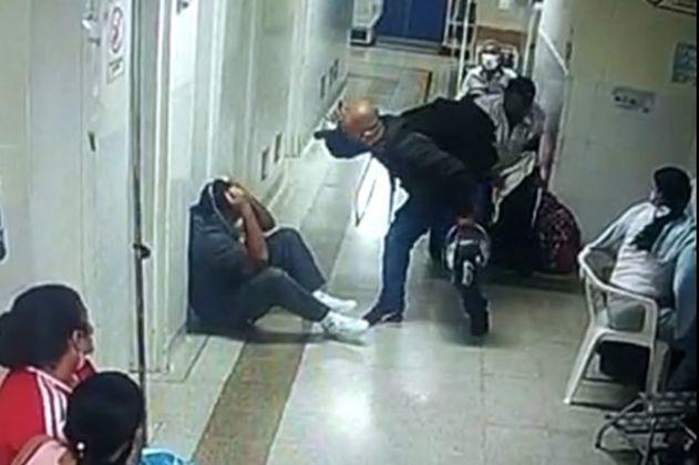 En Medellín, familiar de un paciente golpeó a auxiliar de enfermería