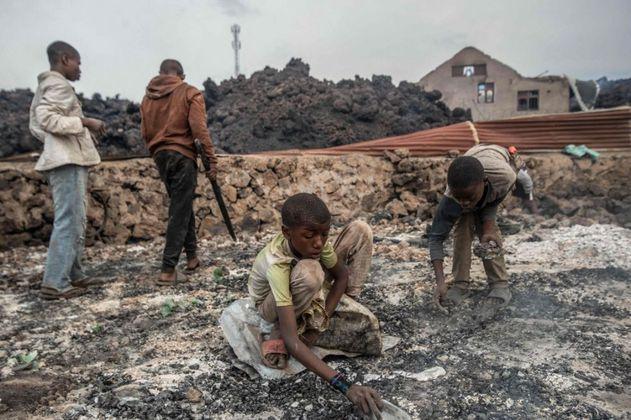 Goma se salvó por poco de la destrucción tras la erupción del volcán Nyiragongo