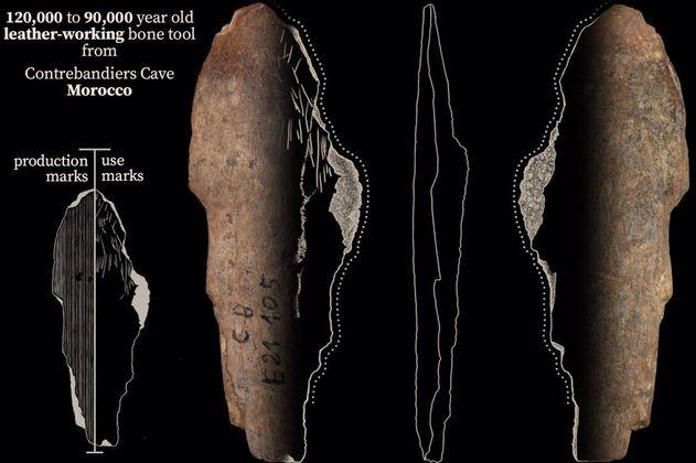Encuentran evidencia de que los humanos fabricaban ropa desde hace 120.000 años