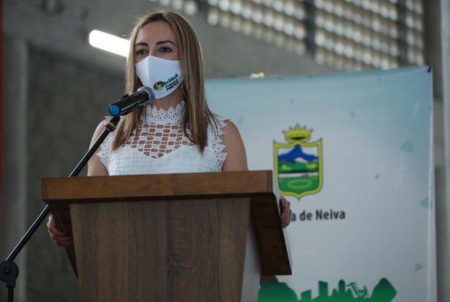 Smith Duarte Cano fue la encargada de gestionar, junto con los excombatientes de Miravalle (Caquetá), los proyectos productivos para ese espacios de reincorporación. / Cortesía