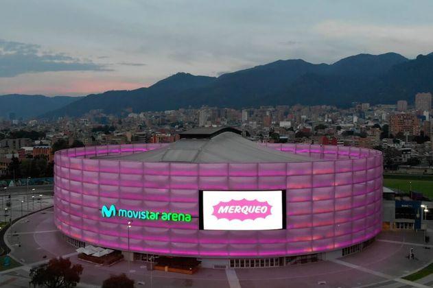 Movistar Arena, nuevo centro de distribución de Merqueo