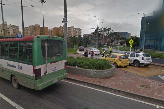 ¡Ojo! Este fin de semana estará cerrado un carril de la Av. Carrera 68 con Calle 24 de Bogotá