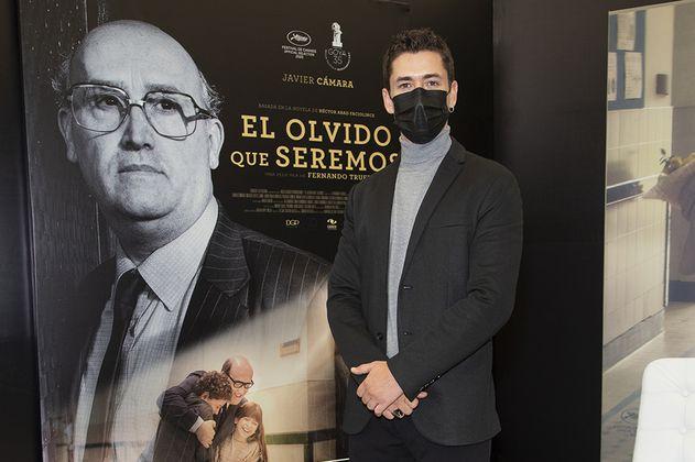 Juan Pablo Urrego en la piel de Héctor Abad Faciolince