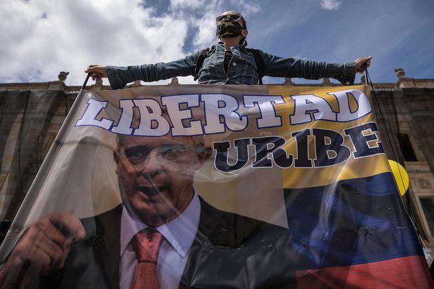 En fotos: uribismo conmemoró el plebiscito en el que ganó el No