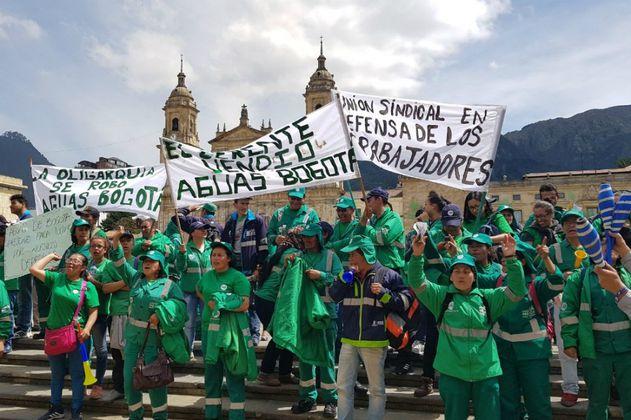 Apelan fallo que determinó ilegal el paro de Aguas de Bogotá