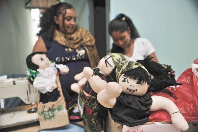 Los proyectos de las mujeres farianas para una vida sin armas